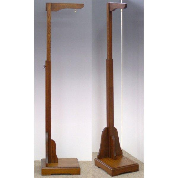 画像2: 木製つるし飾り台(高さ調整可能タイプ)