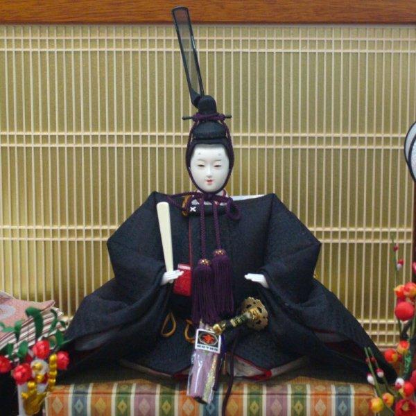 画像4: 平安寿峰 雛人形(ひな人形)親王飾り「京雛殿・京舞」(巾90cm)