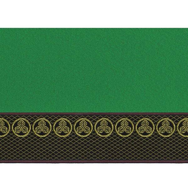 画像4: 家紋入り毛氈(フェルト)敷折織丸に三つ柏(まるにみつかしわ)