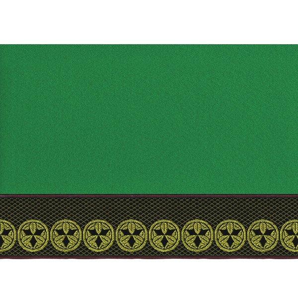 画像4: 家紋入り毛氈(フェルト)敷折織丸に九枚笹(まるにくまいざさ)