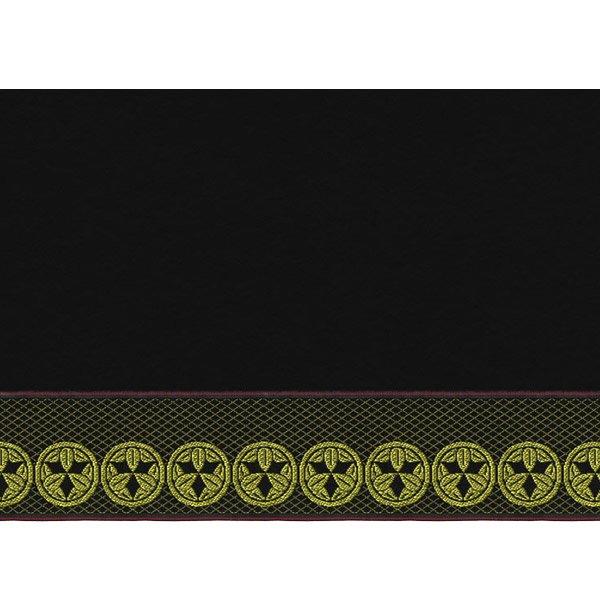 画像3: 家紋入り毛氈(フェルト)敷折織丸に九枚笹(まるにくまいざさ)