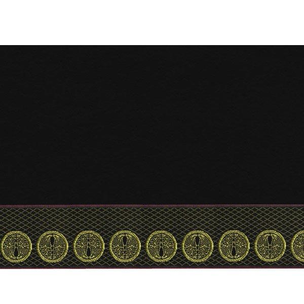 画像3: 家紋入り毛氈(フェルト)敷折織丸に抱き茗荷(まるにだきみょうが)