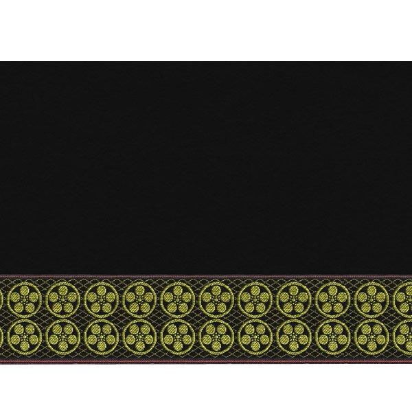 画像3: 家紋入り毛氈(フェルト)敷折織丸に梅鉢(まるにうめはち)天神様神紋