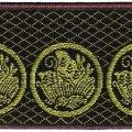 家紋入り毛氈(フェルト)敷折織丸に揚羽蝶(まるにあげはちょう)