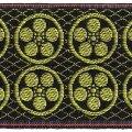 家紋入り毛氈(フェルト)敷折織丸に梅鉢(まるにうめはち)天神様神紋