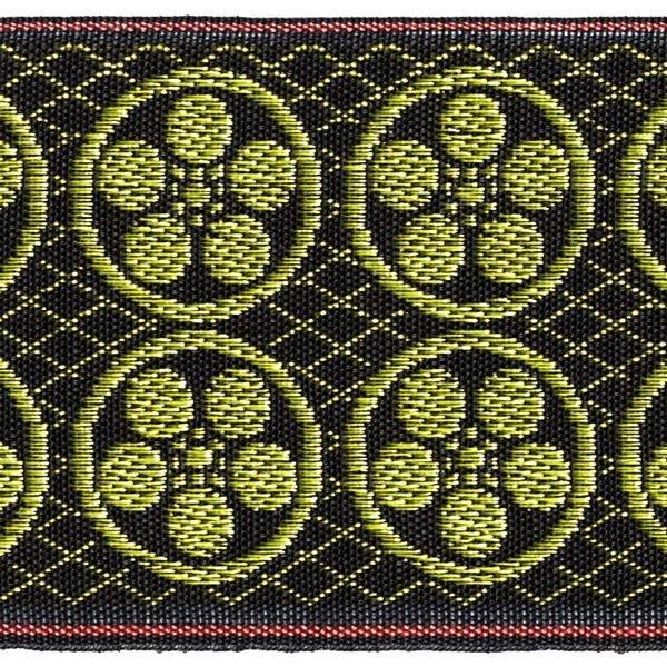 画像1: 家紋入り毛氈(フェルト)敷折織丸に梅鉢(まるにうめはち)天神様神紋