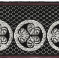 家紋入り毛氈(フェルト)敷折織丸に三つ葵(まるにみつあおい)徳川家家紋