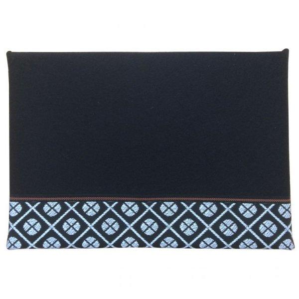 画像1: 立体黒毛氈 小紋高麗(こもんこうらい) 敷折織