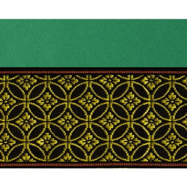 画像2: 緑毛氈(もうせん)  敷折織 5柄 (しきおりおり) 床飾り用 <特厚2mm>