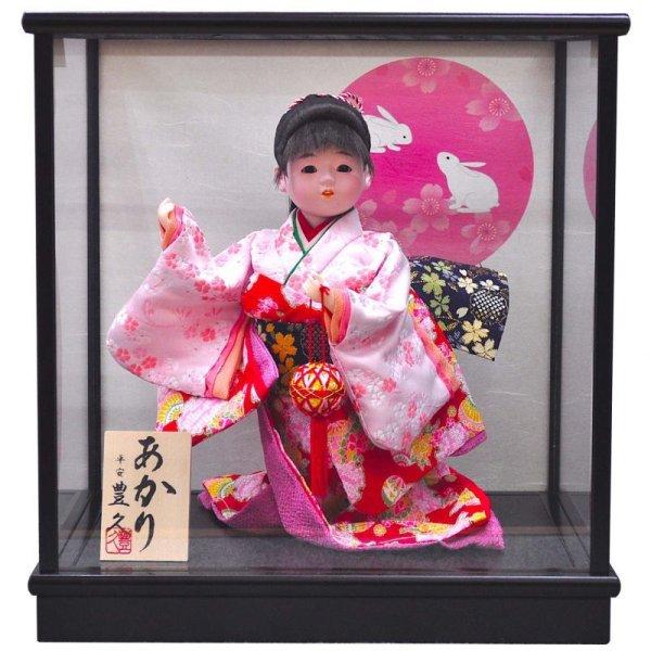 画像1: 平安豊久 舞踊人形ケース 花印6号「あかり」